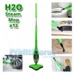 Σκούπα Ατμοκαθαριστής H2O Steam MOP x12 για Απόλυτη Καθαριότητα χωρίς Απορρυπαντικά