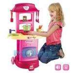 Παιδική Κουζίνα με Νεροχύτη, Εστία, Βρύση, με ήχο και φωτισμό.