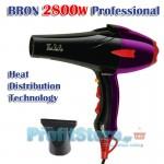 Υψηλής Ισχύος Σεσουάρ Μαλλιών 2800W BRON BR-7717