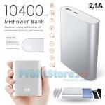 Υψηλής Απόδοσης & Ισχύος Power Bank 2,1A - Μπαταρία Φορτιστής 10.400mAh MH 1040