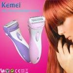 Επαναφορτιζόμενη Γυναικεία Ξυριστική Μηχανή & Trimmer KEMEI KM-3018