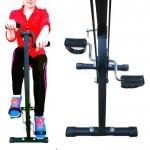 Πτυσσόμενο Διπλό Στατικό Ποδήλατο Γυμναστικής JOCCA 6208