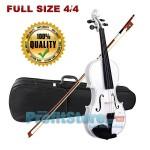 Κλασικό Βιολί 4/4 με θήκη μεταφοράς και δοξάρι - Shiny White