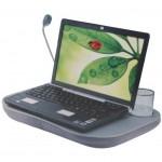 Μαξιλάρι Στήριξης laptop με Φως και Ποτηροθήκη