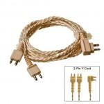 Ανταλλακτικό Διπλό Καλώδιο για τα Ακουστικά Βαρηκοΐας X136 και F28