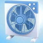 Ανεμιστήρας Box Fan 12'' 30W με Περιστρεφόμενο πλέγμα, 3 ταχυτήτων με χρονοδιακόπτη CROWN
