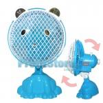 Φορητός Παιδικός Περιστρεφόμενος Ανεμιστήρας 20cm - 20W TeddyBear FC01-198