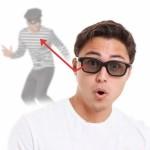 Κατασκοπευτικά Γυαλιά Spy Glasses  - για να έχετε μάτια και πίσω...