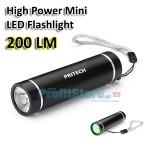 Μίνι Φακός 200 Lumens Yψηλής Φωτεινότητας PRITECH CREE XP-E 3W