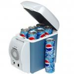 Ηλεκτρικό Φορητό Ψυγείο 7,5 Λίτρων για το Αυτοκίνητο 12V για Ψύξη ή Θέρμανση