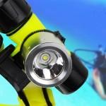 Αδιάβροχος Υποβρύχιος Καταδυτικός CREE LED T6 800LM Φακός Κεφαλής Επαναφορτιζόμενος