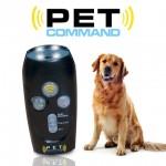 Τηλεχειριστήριο Εκπαίδευσης Σκύλων με Υπερήχους & Δυνατό Φακό Pet Command®