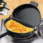 Αντικολλητικό Αναδιπλούμενο Τηγάνι Ομελέτας - Non Stick Folding Omelette Pan