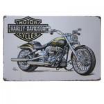 Διακοσμητική Μεταλλική Πινακίδα (20Χ30cm) Harley Davidson