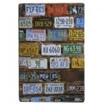 Διακοσμητική Μεταλλική Πινακίδα (20Χ30cm) Plates