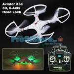 Τηλεκατευθυνόμενο Ελικόπτερο Quadcopter 6 Axis Gyro 2.4GHz 3D-360 με Head Locking
