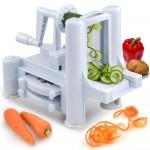 Πολυκόφτης Λαχανικών Spiralizer για Γαρνίρισμα & Μακαρονάδες από Λαχανικά