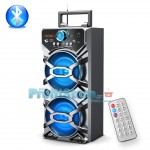 Φορητό Ηχοσύστημα Bluetooth 2x10W USB/SD/AUX Multimedia Player KINGWON XH-107BT