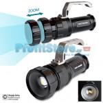 Αδιάβροχος Φακός Προβολέας LED ΖΟΟΜ Υψηλής Φωτεινότητας CREE XM-L 800LM SINGFIRE FA-9001