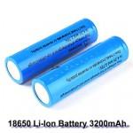 Επαναφορτιζόμενη μπαταρία 18650 3,7V 3700mAh