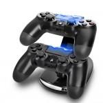 Διπλή Βάση Φόρτισης Χειριστηρίων Playstation 4 - PS4 Dual Charge n Stand