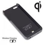 Θήκη Ασύρματης Φόρτισης Qi Wireless Charging Case για iPhone 5/5S Black