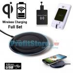 Πλήρες Σετ Ασύρματης Φόρτισης Κινητών microUSB Wireless Charging Set