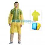 Αδιάβροχη Καπαρντίνα με Κουκούλα που φοριέται εύκολα πάνω από τα ρούχα