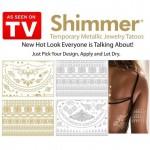 Μεταλλικά Τατουάζ - Shimmer Metallic Jewelry Tattoos Gold & Silver Designs