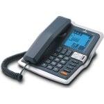 Μεγάλο Ενσύρματο Τηλέφωνο με Αναγνώριση Κλήσεων & Ευδιάκριτες Ενδείξεις για Ηλικιωμένους KLK TM330V