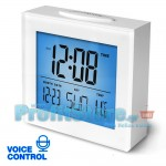 Ψηφιακό Ρολόι Θερμόμετρο με Αισθητήρα Ήχου & Δόνησης WELTBILD 3501