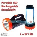 Φακός Επαναφορτιζόμενος Προβολέας LED Φωτιστικό - Φωτίζει στα 1.000 μέτρα