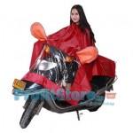 Extra Ενισχυμένο Προστατευτικό Αδιάβροχο Κάλυμμα Μηχανής - Αναβάτη