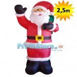 Φουσκωτός Άγιος Βασίλης Γίγας 250cm