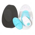Γάντι Αποτρίχωσης Προσώπου Σώματος με Λειτουργία Δόνησης - Vibrating Hair Removal Pads