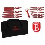 Μαχαίρια Berlinger Haus 11 τμχ. αντικολλητικά σε θήκη βαλίτσα SFG-608