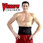 Ανδρική Ζώνη Σύσφιξης Μέσης, Κοιλιάς και Αδυνατίσματος Διπλής Πίεσης - VShape Trainer