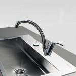 Μπαταρία Νεροχύτη Πάγκου Αναμεικτική - Faucet Bella 20581