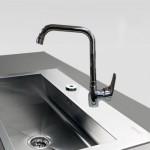 Μπαταρία Νεροχύτη Πάγκου Αναμεικτική - Faucet Bella 20594