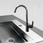 Μπαταρία Νεροχύτη Πάγκου Αναμεικτική - Faucet Bella 20601