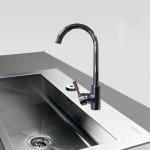 Μπαταρία Νεροχύτη Πάγκου Αναμεικτική - Faucet Bella 20606