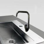 Μπαταρία Νεροχύτη Πάγκου Αναμεικτική - Faucet Bella 20593