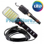 LED Φωτιστικό Εργασίας - Συνεργείου με Μαγνήτη, 10μ Καλώδιο, 25 LED Λαμπτήρες & Γάντζο