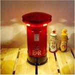 Ρετρό Φωτιστικό LED Αφής - Κουμπαράς - Ταχυδρομικό Κουτί Antique London Post Box