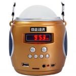 Φορητό Ραδιόφωνο USB/SD MP3 Player Φακός LED - MEIER M-U89