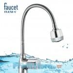 Εύκαμπτη Μπαταρία Νεροχύτη Πάγκου Απλή - Faucet Flexi-C