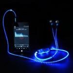 Φωτιζόμενα Ακουστικά In-Ear Headset με Μικρόφωνο - Magic Light Hands-free