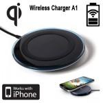 Ασύρματη Βάση Φόρτισης Κινητών - Qi Wireless Charging Pad Α1 ΟΕΜ