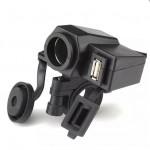 Φορτιστής USB για Mοτοσυκλέτα MOTORader AZTE329
