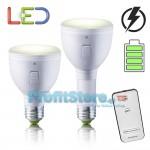 Τηλεχειριζόμενος LED Λαμπτήρας Οικονομίας και Επαναφορτιζόμενος Φακός Ε27 Ψυχρό Λευκό – Magic Bulb II